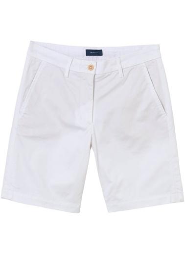 Gant Şort Beyaz
